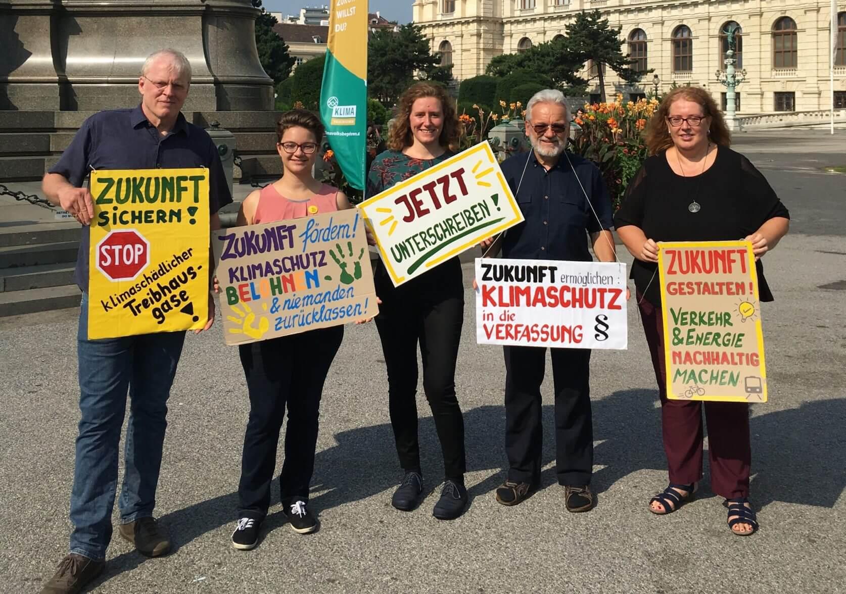 Klimavolksbegehren: Jetzt unterschreiben!