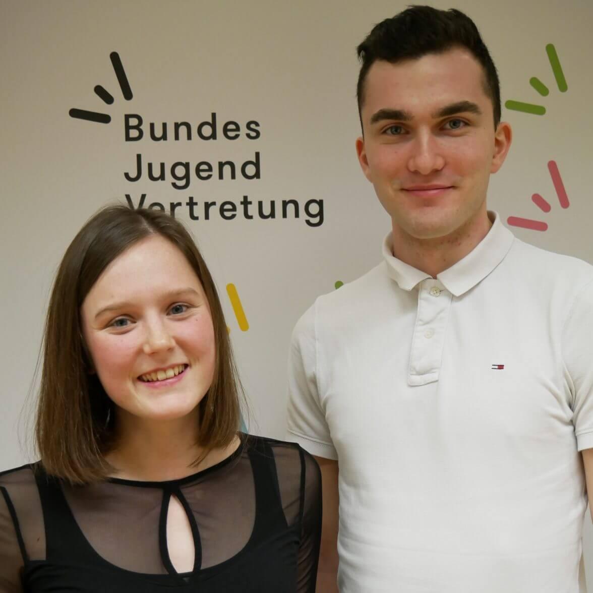 European Youth Delegates Hannah und Johannes