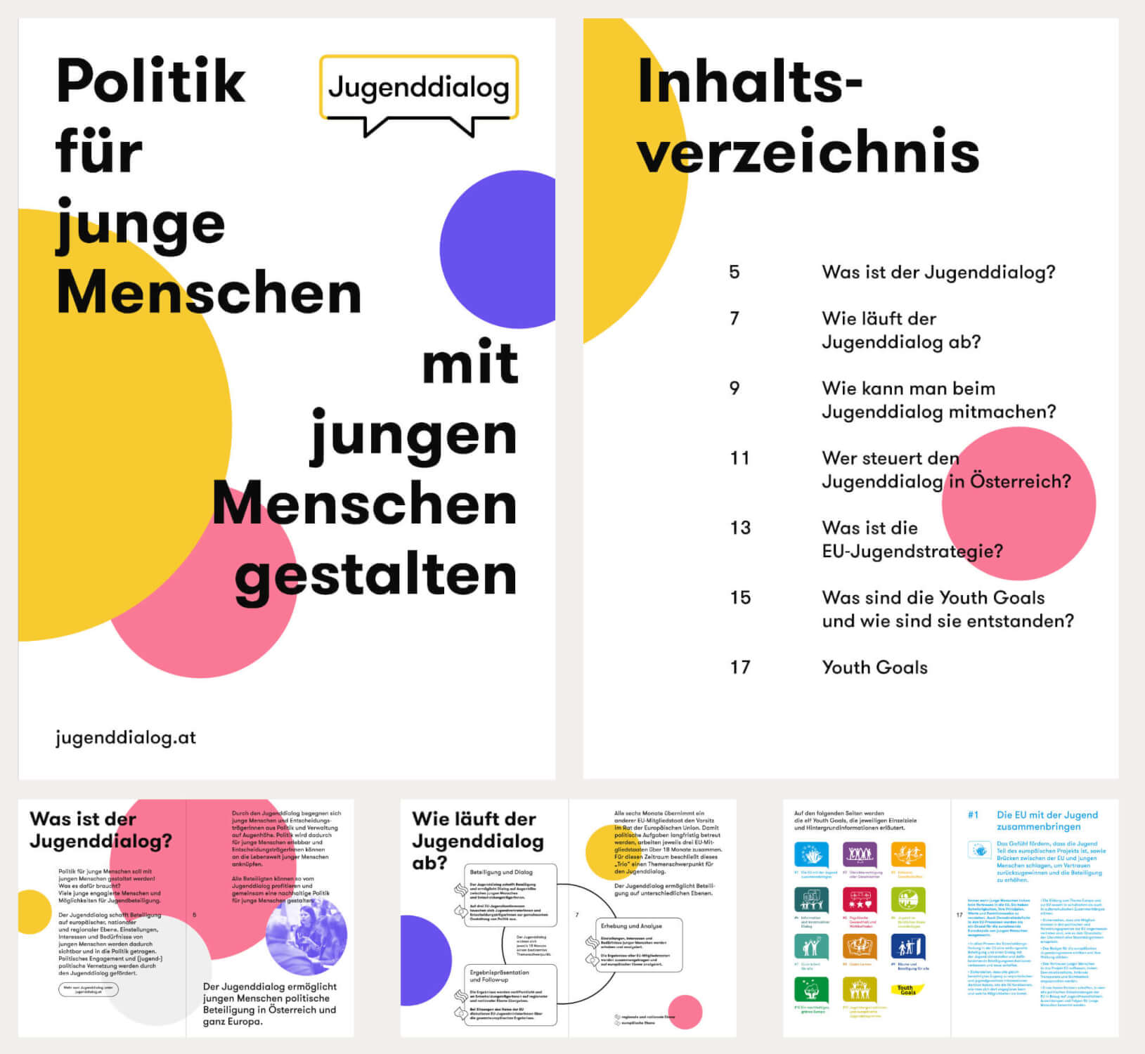 Broschüre Jugenddialog