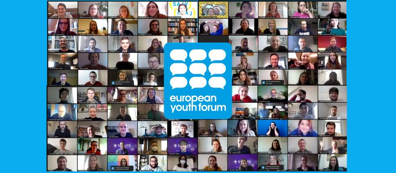 Generalversammlung des Europäischen Jugendforums 2020