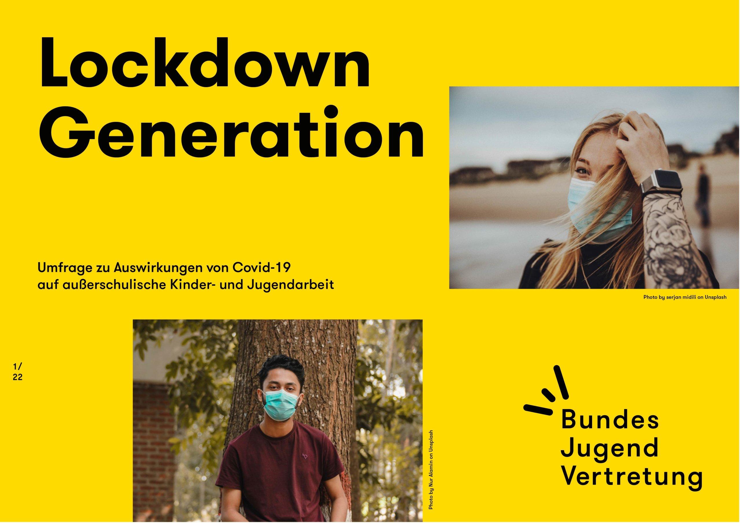 """Jugendumfrage """"Lockdown Generation"""""""