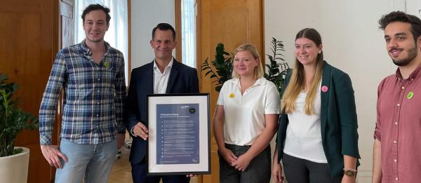 BJV trifft Gesundheitsminister Mückstein